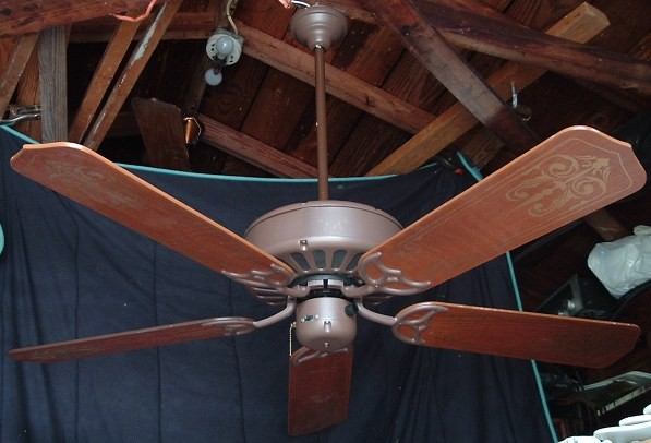 American industries early day five paddle ceiling fan pictures mozeypictures Image collections
