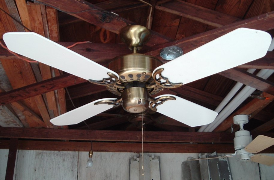 Antica codep 40 and 42 inch 4 blade ceiling fans fan one antique brass white with footprint vents mozeypictures Choice Image