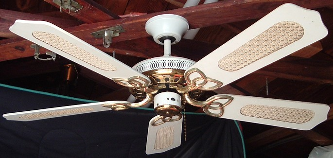 Broan Alaska 42 Inch Five Blade Ceiling Fan From The Late