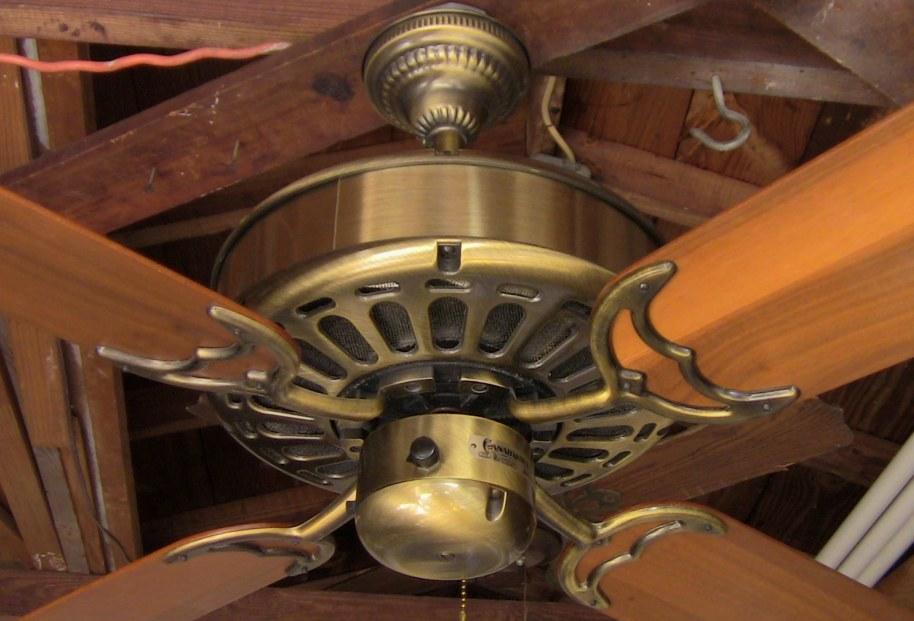 Casablanca Zephyr Antique Brass Ceiling Fan