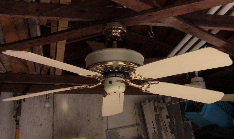Casablanca Zephyr Vanilla Amp Brass Five Blade Ceiling Fan