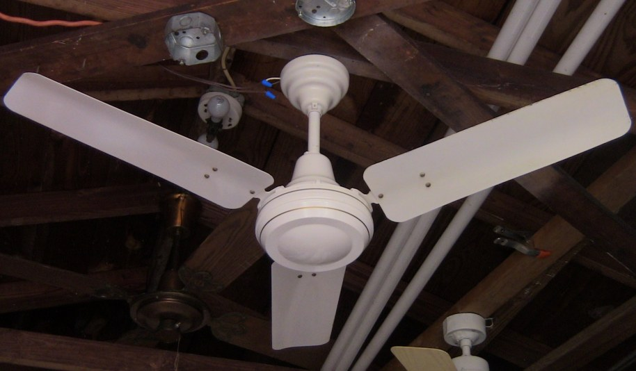 Encon Crompton Greaves High Breeze Ceiling Fan Model