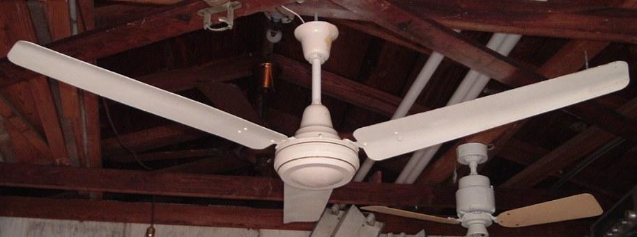 Encon Crompton Greaves Industrial Ceiling Fan Model 1400mm 3b