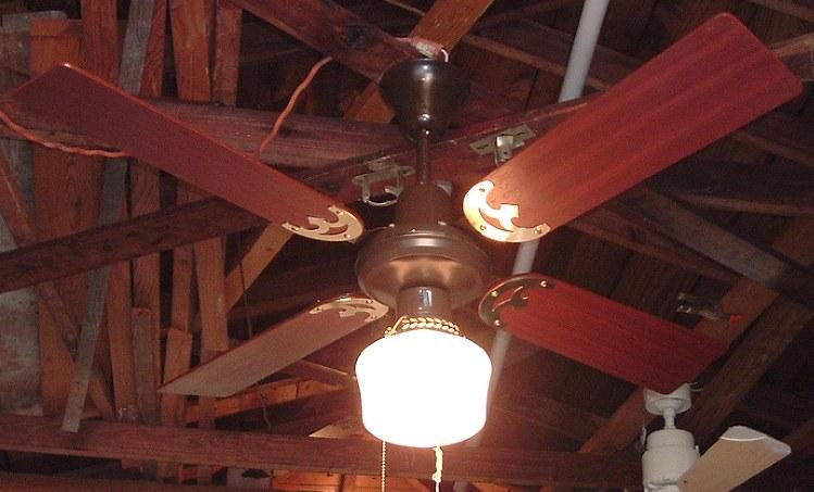 Fair Fan Fty Ltd The Golden Breeze Ceiling Fan Model 328 S