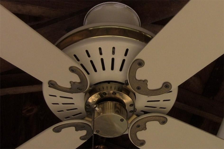 Fasco Charleston Ceiling Fan Model A452 Cream Amp Brass