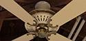 Fasco Charleston 2nd Gen Ceiling Fan Model 452 (Antique Brass)