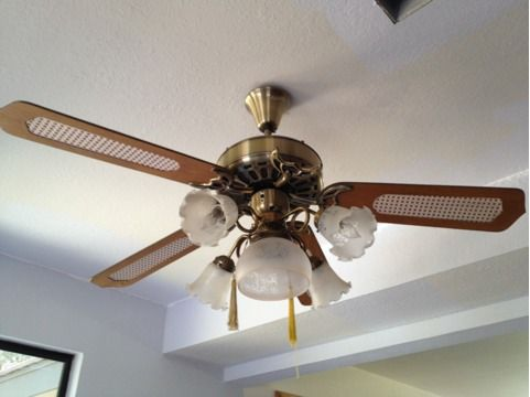 Early GE Vent Five Blade Ceiling Fan