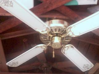 Hampton Bay Four Blade Landmark Ceiling Fan From The Late