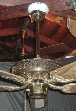 Hampton Bay Five Blade Landmark Ceiling Fan Model Ac 552