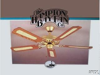 Hampton Bay Five Blade Landmark Ceiling Fan Model Ac 552