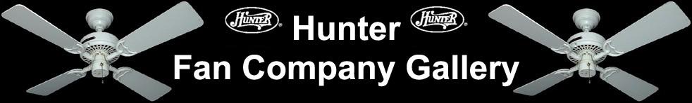 Hunter Ceiling Fan Gallery