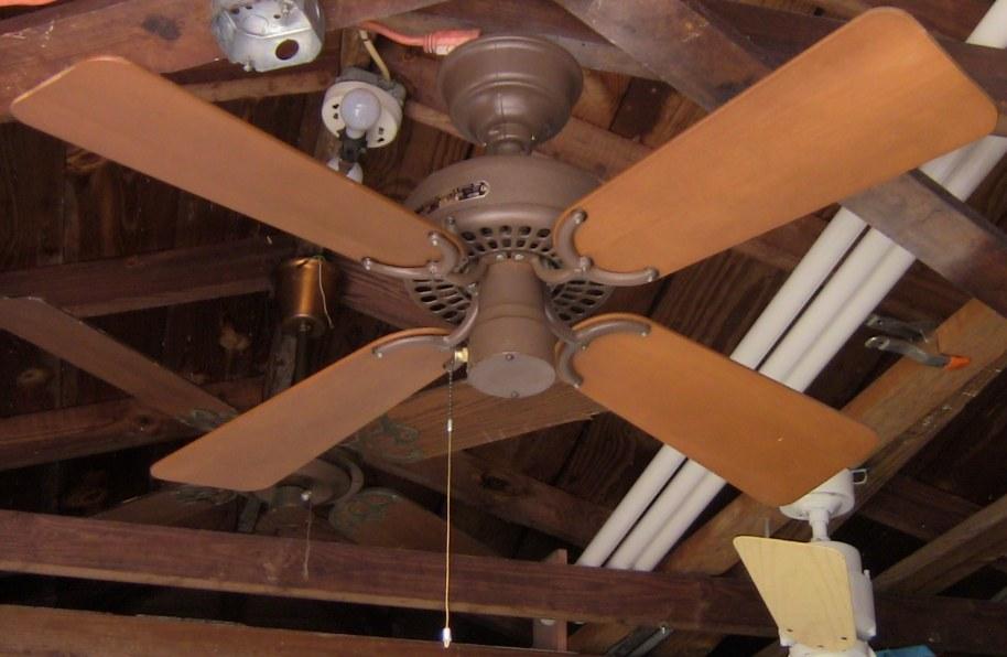 Hunter original robbins myers 36 inch ceiling fan cat no 22270 004 fan 2 aloadofball Gallery