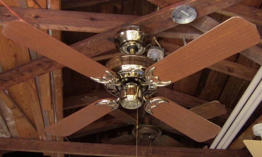 Vintage Ge Fan Model Numbers : Hunter passport series ceiling fan model