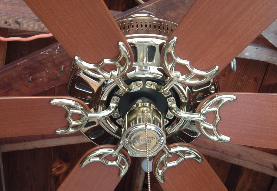 Hunter Studio Series Six Blade Ceiling Fan Model 23549
