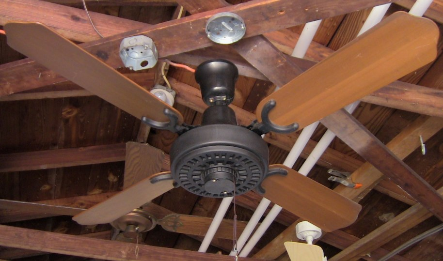 Lasko Plastic White Ceiling Fan From The Early 1980s