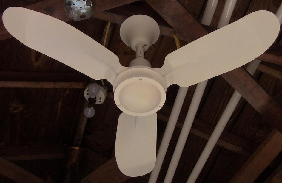 Miami Carey Metal Blade Ceiling Fan Model Cf 636