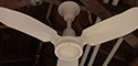 Leslie Locke Metal Blade Ceiling Fan Model DF-361