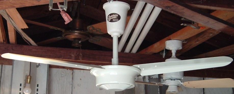 Moss Caribbean Breeze 36 Inch Metal Blade Ceiling Fan