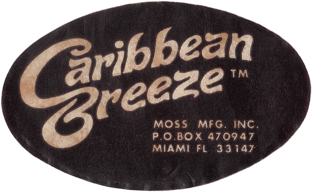 Moss Caribbean Breeze Instructions
