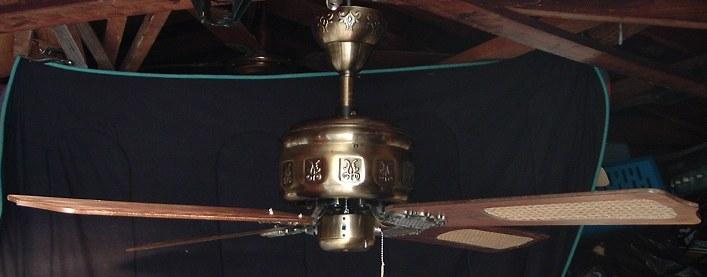 Moss Emperor Ceiling Fan Model Mp52 Series