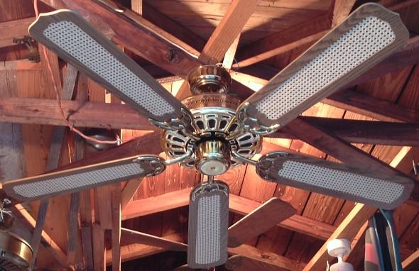 Moss Hf 100 Series Heirloom Deluxe Ceiling Fans Model Hfdo5225c7