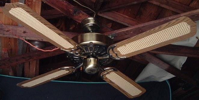 Moss HF 100 Series Heirloom Ceiling Fan