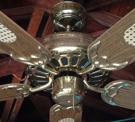 Moss Hf 100 Series Heirloom Deluxe Ceiling Fan