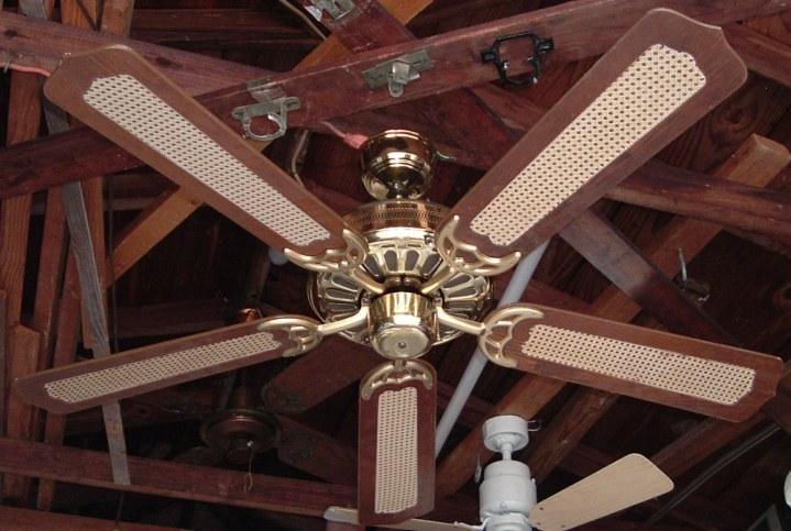 Moss Hf D Series Polish Brass Ceiling Fan