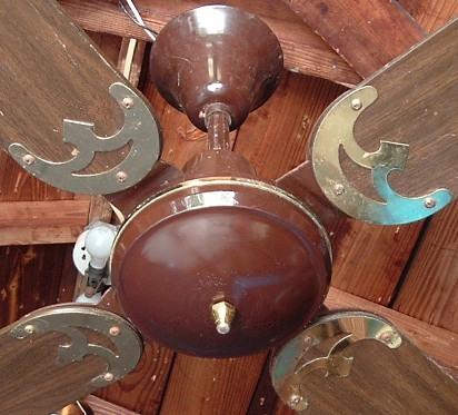 Moss Tropical Breeze Ceiling Fan Model N 101 C