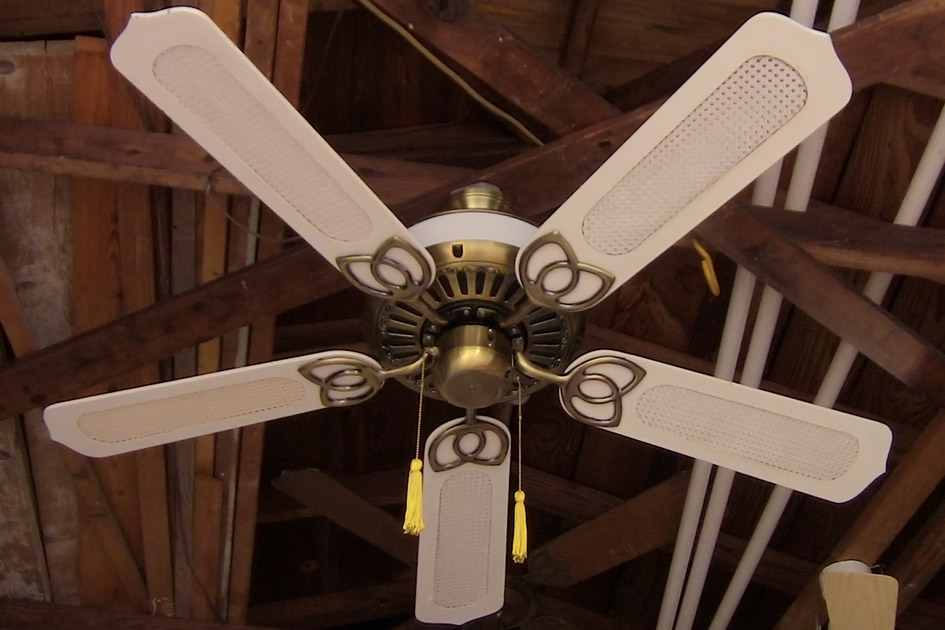 North American Fan Company Ceiling Fan From The Mid 1980s