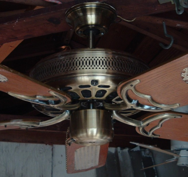 Palm Air Ceiling Fan Model C552 From 1984