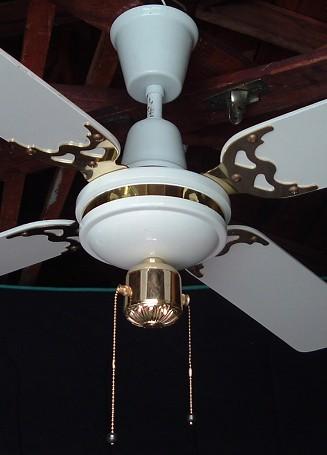 Ritz Ceiling Fan Model Cfa1 W Pc