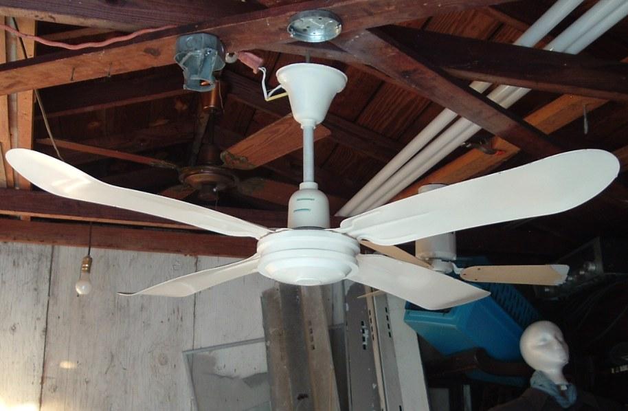 Safer Mfg Co Blue Cross 48 Inch 4 Metal Blade Ceiling Fan