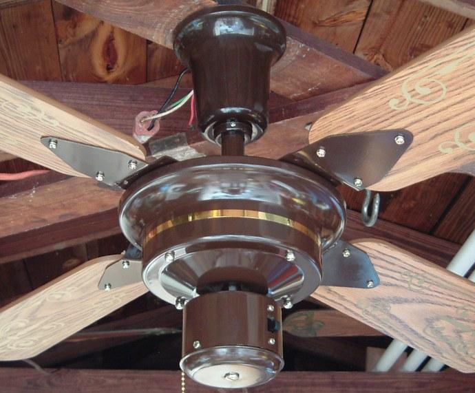 Saga Crown Colony Ceiling Fan Model No 300 5
