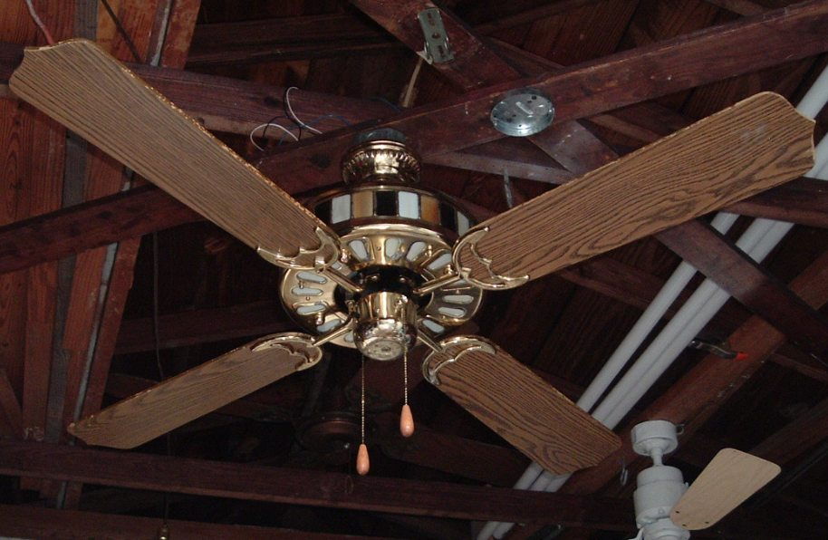 Scotty S Hardware Lighted Housing Ceiling Fan Model Hg