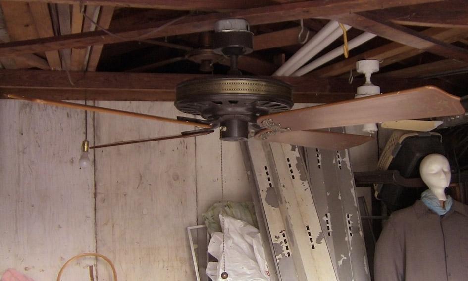Sears Turn Of The Century Deluxe Ceiling Fan Model 292 105402