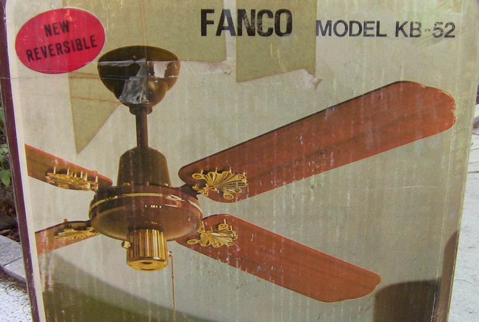 S M C Laguna Ceiling Fan Model Kb52 48 42 Reversible