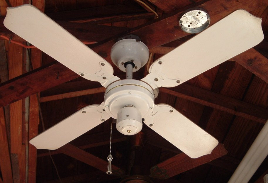 1980s Ceiling Fans : Tat ceiling fan model cfa pc from the mid to late s