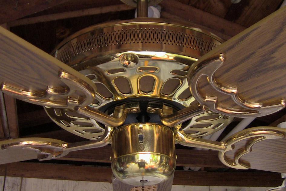 Tat Deluxe Ceiling Fan Model Bdf52cb Bb Five Blades