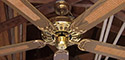 TAT Deluxe Ceiling Fan Model BDF52CB-BB