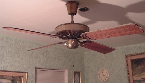Tat Deluxe Ceiling Fan Model Bdf52cb From The Early 1980s