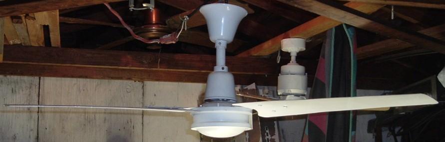 Union Metal Blade Ceiling Fan Model A 2