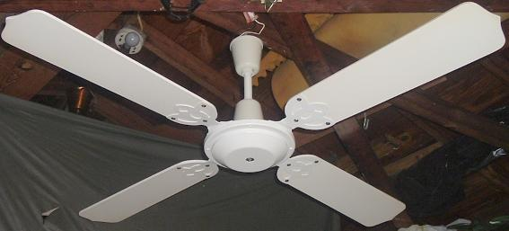 1970s Ceiling Fan : Wing tat ceiling fans late s early