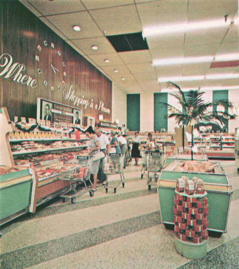 Publix Lighting From The 1960s U S Fluorescent Mfg Co