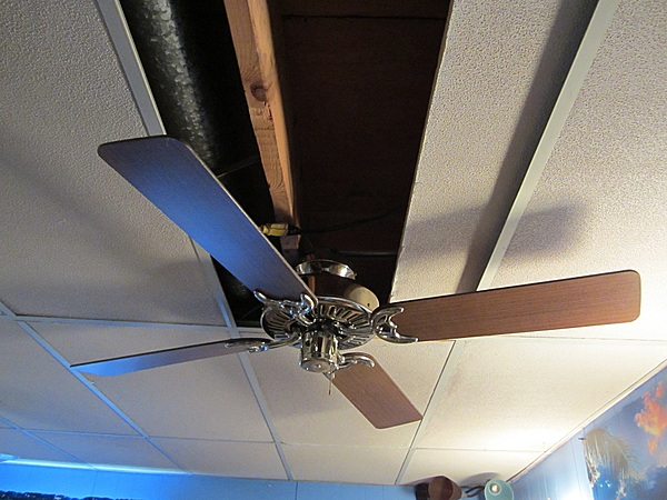 how to fix a slow running ceiling fan