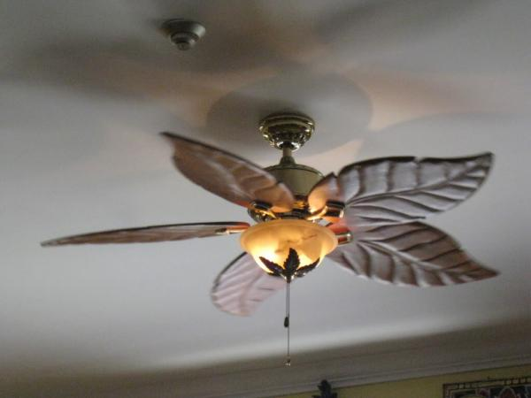 Leaf Ceiling Fan Home Depot