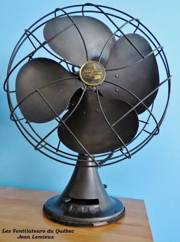 Emerson 77646-AS 12'' Desk Fan