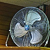 UberHaus High Velocity 18'' Floor Fan Fan
