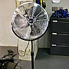 UberHaus High Velocity 18'' Pedestal Fan