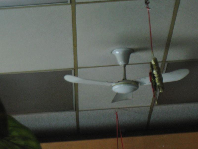 Golden Fan Industrial 36'' by Jean2291 in Golden Fan